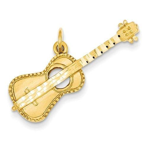 Acoustic Guitar Charm (C1092)