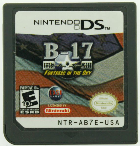 B-17: Fortress in the Sky (Nintendo) DS Lite DSi XL 3DS (GAME ONLY)