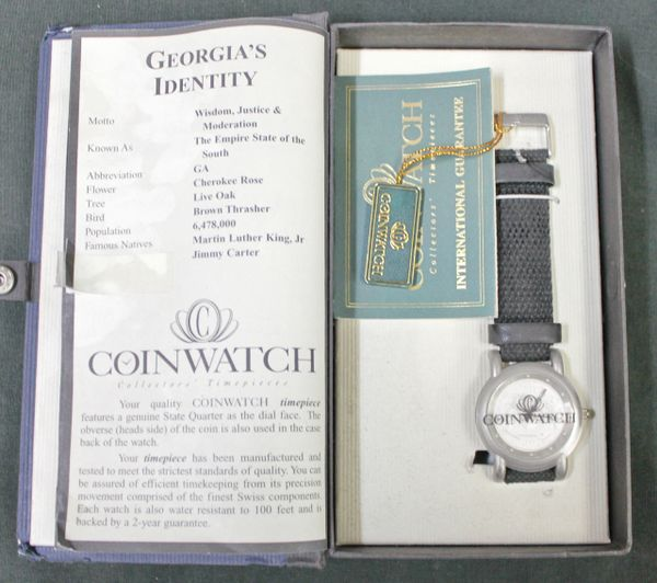 Georgia CoinWatch Collectors' Timepieces