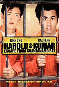 Harold & Kumar Escape from Guantanamo Bay (DVD, 2008)