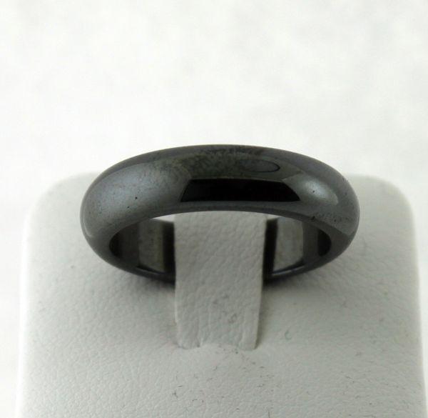 6mm Black Tungsten Wedding Band