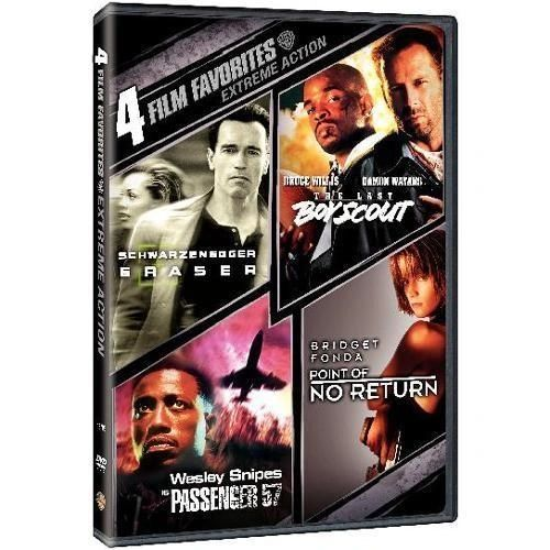 4 Film Favorites: Extreme Action (DVD, 2007, 2-Disc Set)
