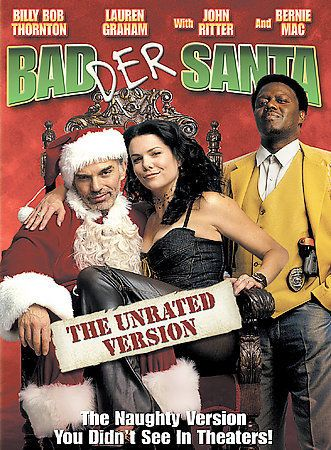 Bad Santa (DVD, 2004, Badder Santa: The Unrated Version)