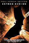 Batman Begins (DVD, 2005)