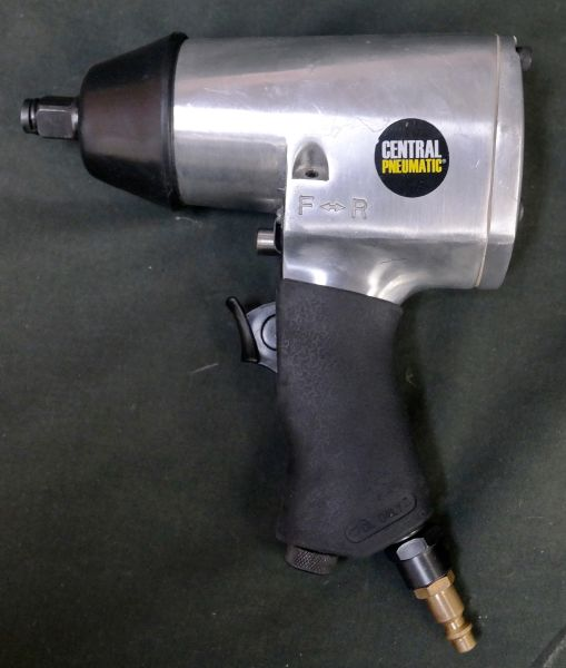 "Central Pneumatic 1/2"" Air Impact Wrench 61718 90PSI MAX"