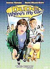 Dude, Where's My Car? (DVD, 2001)