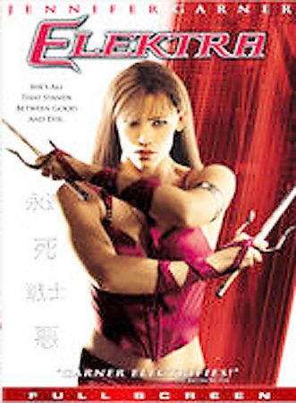 Elektra (DVD, 2005, Full Screen)