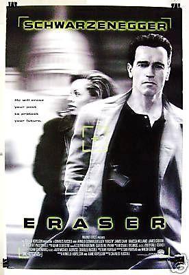 Eraser (DVD, 1996) Arnold Schwarzenegger