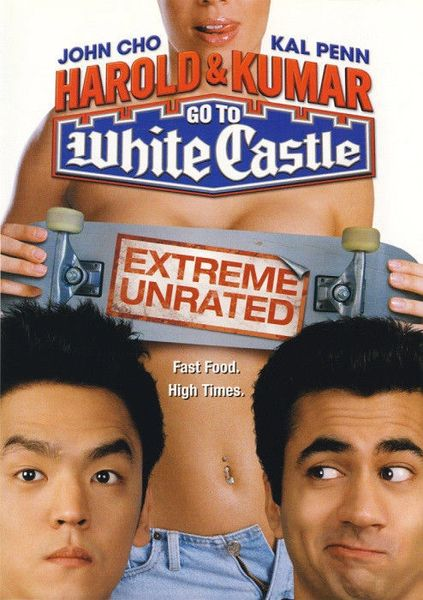 Harold & Kumar Go To White Castle (DVD, 2005, Unrated Version)