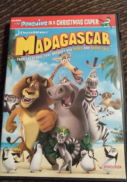 DREAMWORKS MADAGASCAR (DVD 2005) Bonus Penguin Caper WIDESCREEN