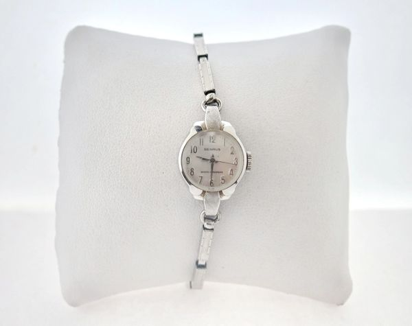 Vintage Benrus Women's Windup Wrist Watch 20 Micron Gold Electroplated