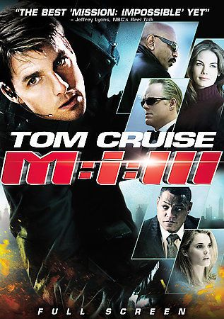 Mission: Impossible III (DVD, 2006, Full Screen)