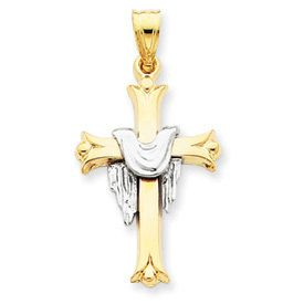 Cross with Robe Pendant (JC-018)