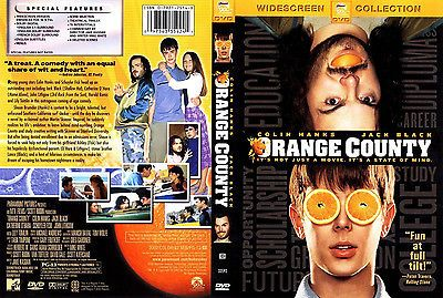 Orange County (DVD, 2002, Widescreen)
