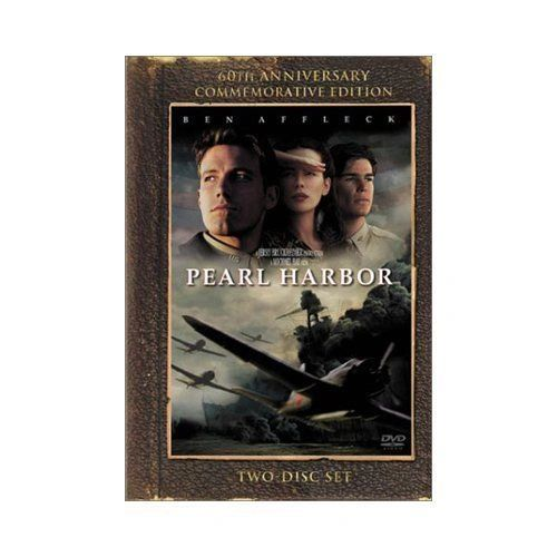 Pearl Harbor (DVD, 2001, 2-Disc Set, Widescreen; 60th Anniversary)