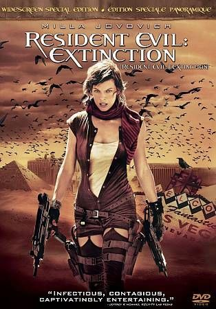 Resident Evil: Extinction (DVD, 2008, Widescreen Special Edition)