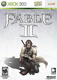 Fable II 2 Limited Collector's Edition (Microsoft Xbox 360, 2008) Complete w/ Manual