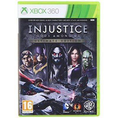 Injustice: Gods Among US Ultimate Edition (Microsoft Xbox 360, 2013)