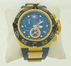 Invicta 16147 Men's Rare Venom Swiss Reserve Chrono Blue Dial White Poly Watch