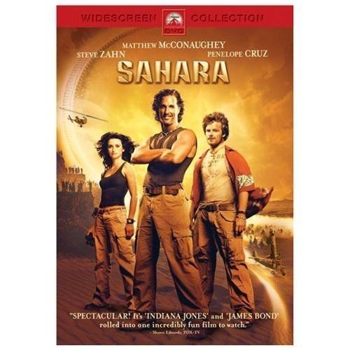 Sahara (DVD, 2005, Widescreen)