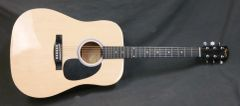 Squier by Fender Natural Dreadnought Acoustic Guitar - RH, 6-String