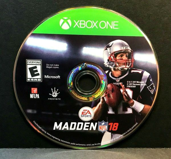 Madden NFL 18 (Microsoft Xbox One, 2017) DISC ONLY