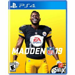 MADDEN 19 (Sony PlayStation 4) PS4 Pre-Owned