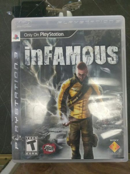 Infamous (PlayStation 3, 2009) Complete In-Box