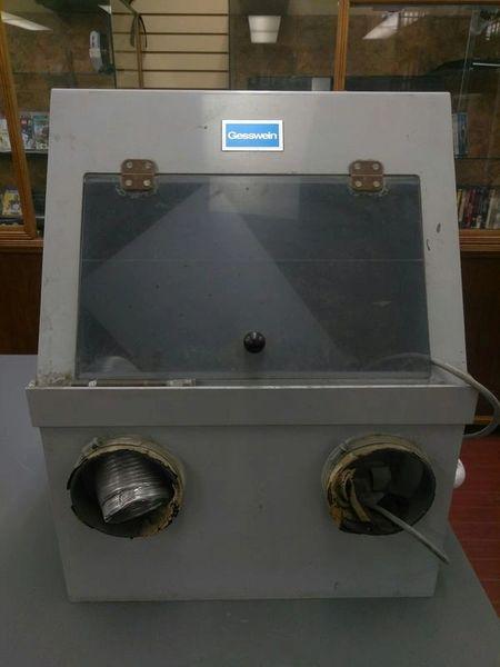 Gesswein Sandblaster Cabinet