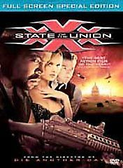XXX: State of the Union (DVD, 2005, Special Edition, Full Screen)
