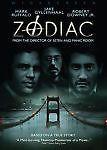 Zodiac (DVD, 2007, Widescreen)