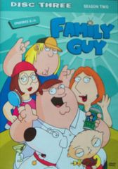 Family Guy Season Two - DVD Disc Three Episodes 8-14