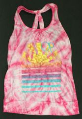Ocean Pacific Knotted Tank Top Size 18M / 24M 100% cotton