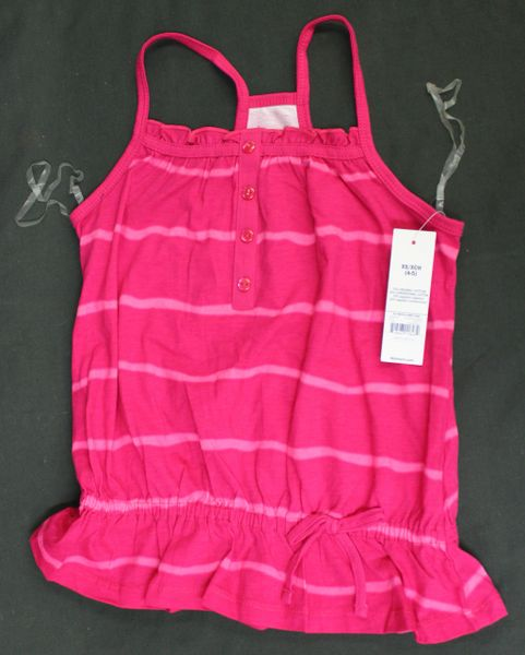 FADED GLORY GIRLS SUN DRESS SUNDRESS SPAGHETTI STRAP Pink
