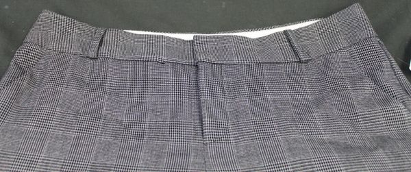 Norma Kamali Women Cropped Pants Tweed Size 12