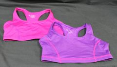 Women Danskin Now 2 Pack Racerback SportBra Size Small