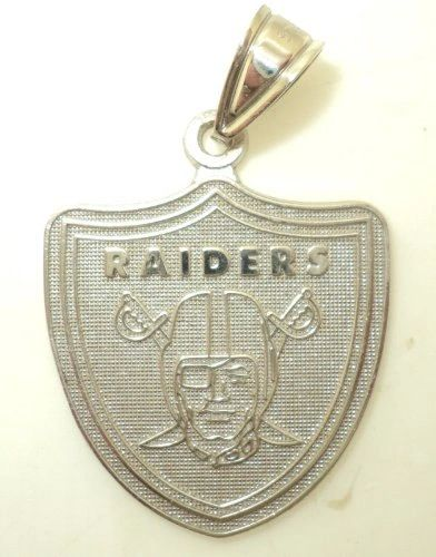 Large NFL Raiders Charm (JC-301)