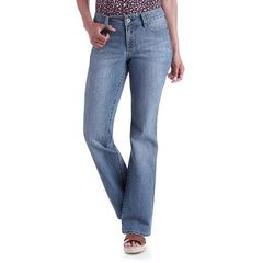Women's Faded Glory Basic Bootcut Jeans 57116 Size 18P Petite