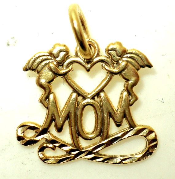 Mom with Angels Charm (JC-614)