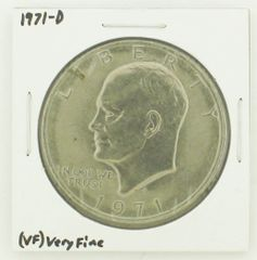 1971-D Eisenhower Dollar RATING: (VF) Very Fine N2-2511-2