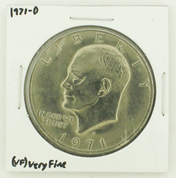 1971-D Eisenhower Dollar RATING: (VF) Very Fine N2-2511-6