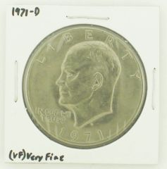 1971-D Eisenhower Dollar RATING: (VF) Very Fine N2-2511-7