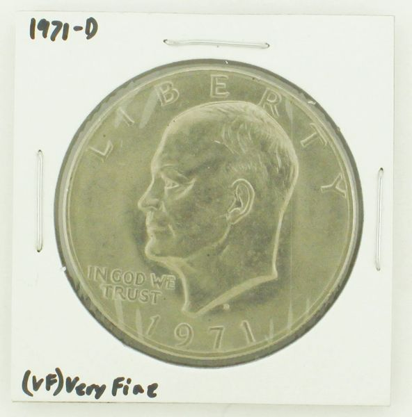 1971-D Eisenhower Dollar RATING: (VF) Very Fine N2-2511-7