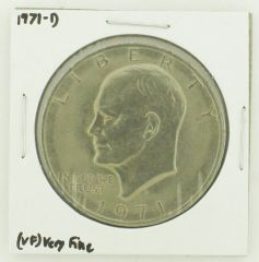 1971-D Eisenhower Dollar RATING: (VF) Very Fine N2-2511-8