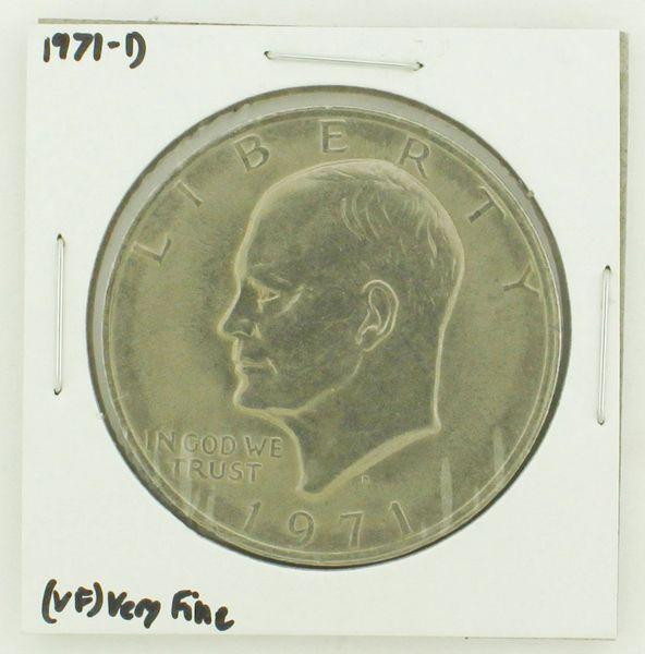 1971-D Eisenhower Dollar RATING: (VF) Very Fine N2-2511-8