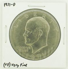 1971-D Eisenhower Dollar RATING: (VF) Very Fine N2-2511-9