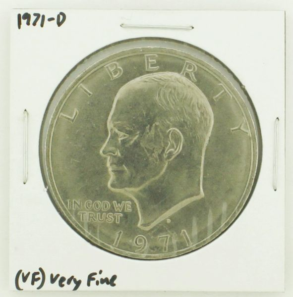 1971-D Eisenhower Dollar RATING: (VF) Very Fine N2-2511-9