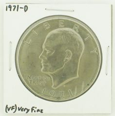 1971-D Eisenhower Dollar RATING: (VF) Very Fine N2-2511-10