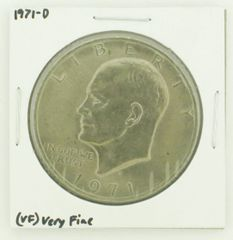 1971-D Eisenhower Dollar RATING: (VF) Very Fine N2-2511-11