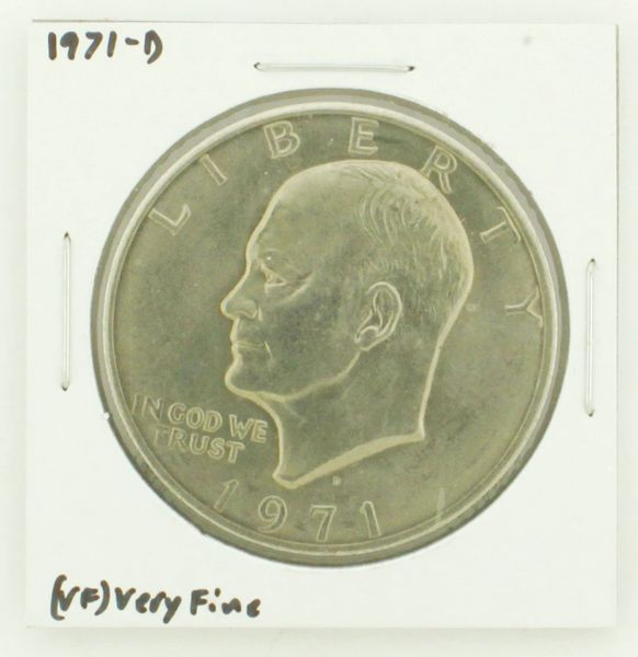 1971-D Eisenhower Dollar RATING: (VF) Very Fine N2-2511-13